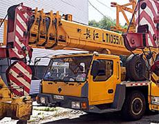Аренда автокрана 50 тонн Киев - услуги автокрана в Киеве LT 55 ...