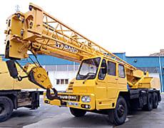Автокран аренда - крана Mitsubishi 20 тонн 34 метра